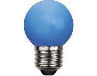 LED Mini Lampe blau, E27, 230V