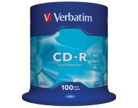 Verbatim CD-R 52x 80Min/700MB 100er Spindel