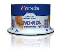 Verbatim DVD+R 8x Double Layer 8.5GB,50Sp