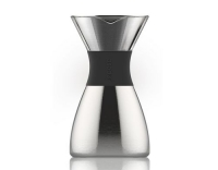 asobu Pour Over silver 1 Liter