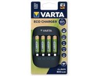 VARTA Eco Charger inkl. 4x 56813 AAA 800mAh