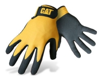 CAT Handschuhe Nitril, gelb