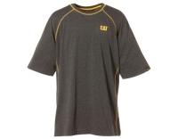 CAT T-Shirt Performance S/S dunkelgrau