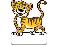 Geburtstafel Tiger