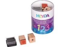 Heyda Stempeldose Zahlen