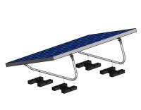 Solar-pac Montage-Kit Flachdach