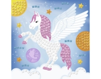 URSUS Moosgummi-Set Glitter Pegasus