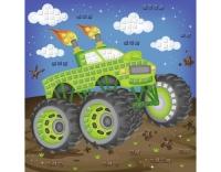 URSUS Moosgummi-Set Glitter Monstertruck