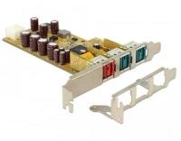 Delock 89655 PCI Express Karte > 1 x 24 V