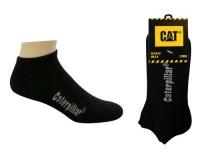 CAT Sneaker Socks Black 2er Set