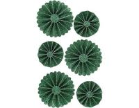 Creativ Company Papier-Rosetten grün