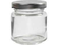 Creativ Company Klarglas mit Schraubdeckel
