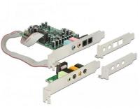 Delock PCI Express Soundkarte 7.1