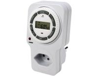 Timer Digital IP20, 24h Zyklus, Kindschutz