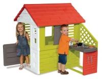 Smoby Spielhaus Nature mit Küche