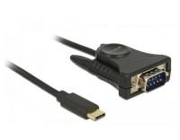 Delock Adapter USB-C>1x Seriell DB9 RS-232