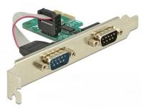 Delock 89918 PCI Express Karte 2x Seriell,
