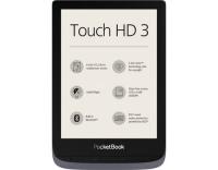PocketBook Touch HD 3 Metallic Grey, WIFI