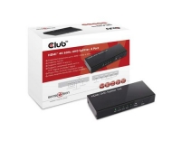 Club 3D, HDMI 2.0 UHD Splitter 4 Port
