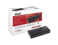 Club 3D, HDMI 2.0 UHD Switchbox 4 Port