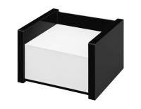 WEDO Zettelbox Black Office