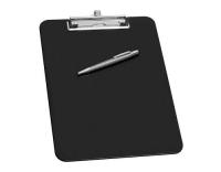 WEDO Klemmbrett A4 mit Stifthalter schwarz