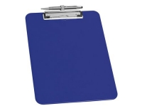 WEDO Klemmbrett A4 mit Stifthalter blau