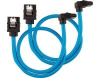 Netzteil Zubehör Corsair SATA, 30 cm blau