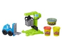 Play-Doh Kran und Gabelstapler