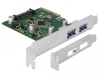 Delock 90298 PCIe 2x USB-Typ-A