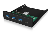 ICY BOX USB 3.0/2.0 Hub Front Panel