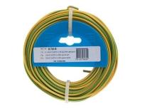 T-Draht 1.5mm2, gelb/grün, 25m
