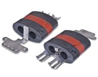 Silikon Kalteinführung für 2 Kabel(8-12mm)