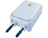 IP55 Patch-/Spleissbox klein, 4 Kassetten