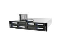 Tandberg RDX QuikStation8: 2U 8-Bay 2x10Gb