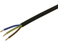 TD-Apparatekabel 3x1.5mm2, schwarz, 25m