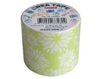 Office Tape L546B grün/Blumen