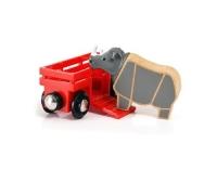 Brio Flusspferd und Wagen
