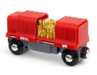 Brio Frachtwaggon mit Goldladung