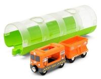 Brio Güterzug und Tunnel