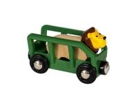Brio Löwe und Wagen