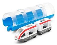 Brio Reisezug und Tunnel