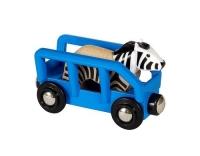 Brio Zebra und Wagen
