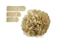 Creativ Company Papier-Pompons gold