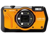 Ricoh WG-6 orange, CMOS 20 MP