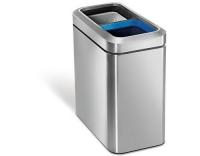 Simplehuman schmaler offener Recycler 10L