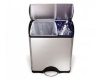 Simplehuman rechteckiger Recycler 46L