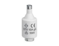 Sicherung DII E27 10A 500V gG mit Melder