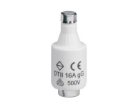 Sicherung DII E27 16A 500V gG mit Melder