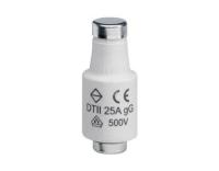 Sicherung DII E27 25A 500V gG mit Melder